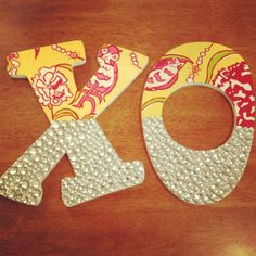 Chi Omega Sorority Letters! Get you own at www.etsy.com/shop/SororityBoutique