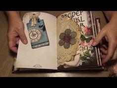 EVG Endless Love 3 signature vintage journal - YouTube
