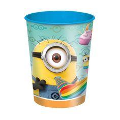 16oz Despicable Me Minions Plastic Cups, 12ct: Amazon.ca: Toys & Games