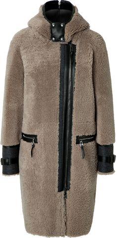Belstaff Shearling Ava Coat