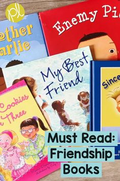 Must Read: Friendship Books Here's are favorite read alouds for K-2. From Positively Learning Blog #readalouds #friendship #picturebooks