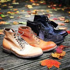 Es wird Herbst. Shoto Schuhe ... - die form Damen- und Herrenmode