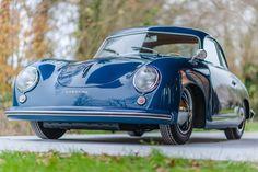 Deze Porsche 356 Pré A Coupé Reutter uit 1953 is volgens het Porsche certificaat nieuw geleverd in de USA en wordt nu te koop aangeboden. Het was de....