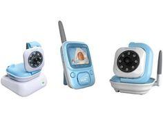 Babá Eletrônica Siga-me Baby com Câmera sem Fio - Transmissão Digital Siga-me…