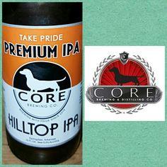 #756 HILLTOP IPA • Core Brewing • Springdale, AR • ☆☆☆