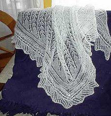 Ravelry: Snowdrop Shawl pattern by Stephanie Pearl-McPhee