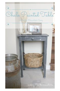 Chalk Paint Table Ma