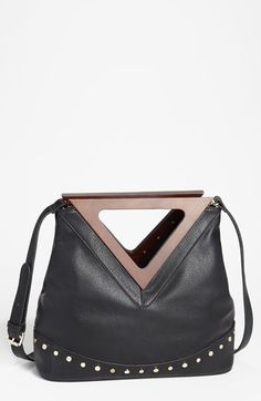 Izzy & Ali 'Alex' Faux Leather Satchel available at #Nordstrom