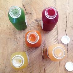 Fresh, cold pressed juice! Pressed Juicery.