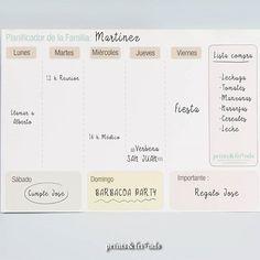¿Ya has planificado la semana? Organiza tus días de forma sencilla y visual con nuestros planificadores personalizables.