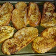 """Chef John's French Toast 