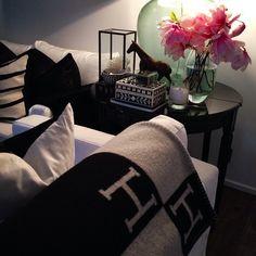 Black & white glam