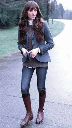 Pull off equestrian style and still stay warm