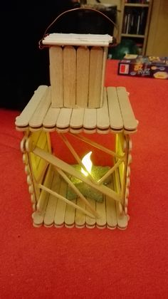 From popsicle sticks