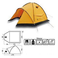 MARABUT Namiot K2 expedition #tent #marabut #K2 #trekking #mountainnering #backpacking #hiking #camping