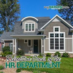 What is the goal of the Human Resources department when it comes to employee relocation? Call Bekins Moving Solutions at for more information today! Moving Cross Country, Office Moving, Budget, Things To Come, Smooth, Goals, Create, Outdoor Decor, Home