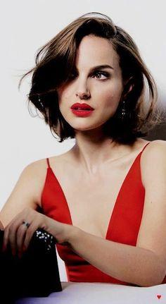 Natalie Portman Girl Haircuts, Bob Hairstyles, Hair Day, New Hair, No Make Up Make Up Look, Medium Hair Styles, Short Hair Styles, Gorgeous Hair, Beautiful