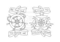 be the one to guide me but not to hold me down
