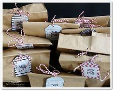 Adventskalender selber machen, Adventskalender selbstgemacht, Butterbrottüten, Mülltüten, Obstkiste