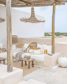 Outdoor Spaces, Outdoor Living, Slow Living, Ibiza, Boho Decor, Home Deco, Pillow Covers, New Homes, Backyard