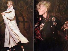 Tilda Swinton Chanel Paris Edinburgh collection