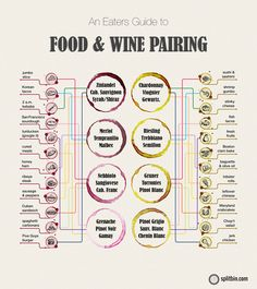 Food + Wine Pairing Chart | Splitbin