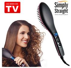 Purchase TV Hot Simply Straight Ceramic Electric Digital Control Antiscaled Hair Straightener from Shining Diamond Shop on OpenSky. Diamond Shop, Ceramics, Tv, Digital, Color Black, Electronics, Makeup, Jewelry, Fashion
