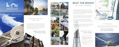 Digital brochure of Koi Residences &  Marina