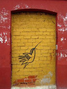 graffiti in Oaxaca