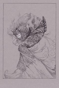 Drawing by Socar Myles