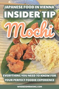 Restaurant Mochi in Vienna, Austria combinies Japanese cuisine with other international culinary traditions. Their delicious food is worth a try! Mochi, Best Vegetarian Restaurants, Ramen Bar, Thai Street Food, Japanese Sushi, Vietnamese Cuisine, Cute Desserts, Foods To Eat, Base Foods