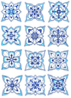 Turkish embroidery patterns.