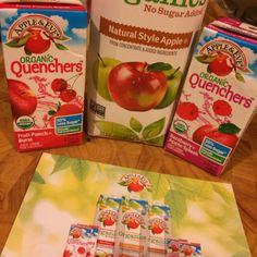Thanks to #Influenster I got to try these yummy organic drinks!! #Contest #QuenchersAdventures