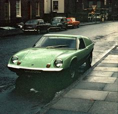 Lotus Europa, how can you look away?