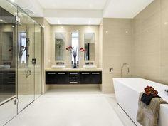 Ceramic in a bathroom design from an Australian home - Bathroom Photo 336485