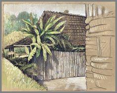 Bali and Java captured on toned paper Travel Drawing, Toned Paper, Urban Sketchers, Sketchbook Inspiration, Stonehenge, Prismacolor, Bali, Sketches, Sketchbooks