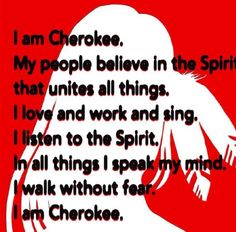 Even though my paternal Grandmother's blood is the only Cherokee blood I have - I am Cherokee Native American Prayers, Native American Spirituality, Native American Cherokee, Native American Symbols, Native American History, Native American Indians, Native Indian, Indian Tribes, Cherokee Symbols
