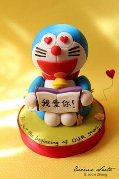 Doraemon cake topper | Flickr - Photo Sharing!