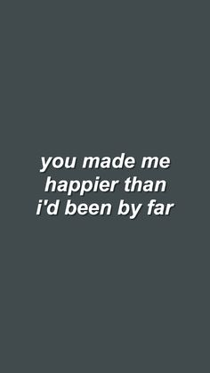 you could be happy // snow patrol