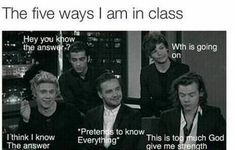 funny, one direction, and school image