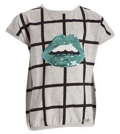 Grijze t shirt liu jo online bij Deleye.be & BeKult