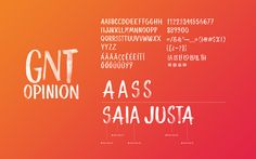 Globosat GNT Channel Lettering on Behance