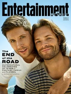 Entertainment Weekly Releases Cover, Story and New Photos with 'Supernatural' Stars Jared Padalecki, Misha Collins, and Jensen Ackles! – Nerds and Beyond Sam E Dean Winchester, Sam Dean, Winchester Brothers, Matt Cohen, Supernatural Star, Supernatural Seasons, Supernatural Quotes, Supernatural Merchandise, Spn Memes