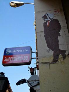 Arte urbano en Malasaña