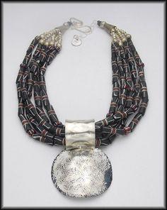 REMOVABLE SLIDE Pendant  Handforged by sandrawebsterjewelry, $175.00