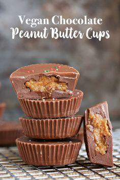 Easy vegan peanut butter cups recipe! #SameSilkySmoothTaste ad @lovemysilk @walmart