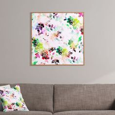 CayenaBlanca Romantic Flowers Framed Wall Art | DENY Designs Home Accessories
