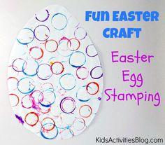 Make an Easter Egg {Fun Easter Craft for Preschool}
