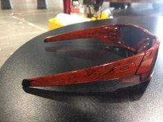 Oakley Glasses with Magic Marble Paint