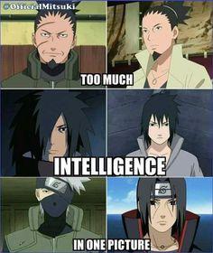 Intelligence ha sexiness maybe! Naruto Comic, Naruto Kakashi, Anime Naruto, Naruto Shippuden Anime, Madara Uchiha, Shikamaru, Anime Manga, Sasunaru, Anime City